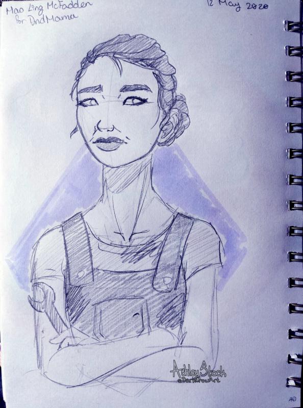 A free sketch