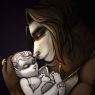 Lucian and his daughter, Adora.