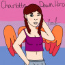 A newer reference of what Charlotte will look like when older, drawn by me